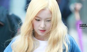 Irene - cô nàng nhuộm màu tóc nào cũng 'đẹp xuất sắc'