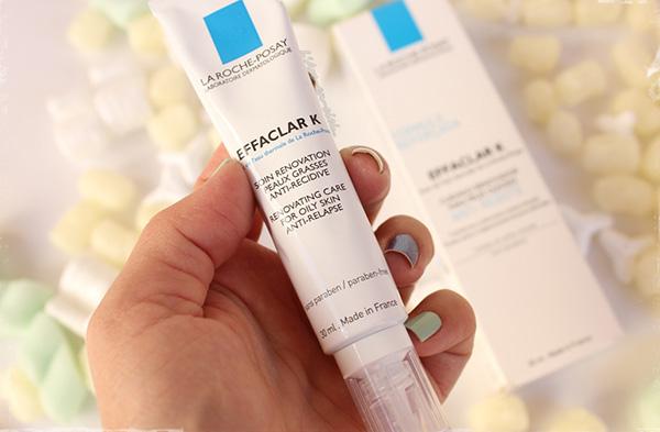 Effaclar K(+) với phiên bản mới 2016 được đánh giá là giải pháp cho những làn da dầu, sần sùi, ngăn ngừa việc tái phát mụn (mụn cám, mụn li ti và mụn đầu đen..)..