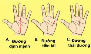 3 đường chỉ tay mang lại 'số sướng' cho bạn