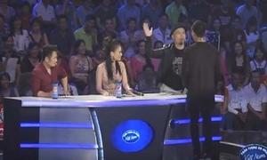 Nhạc sĩ Huy Tuấn 'tát' thí sinh idol trên sóng truyền hình