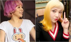 Loạt sao Hàn bị 'làm hại' bởi kiểu tóc khó đỡ khi comeback