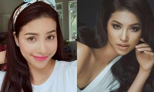 Sự khác biệt của Hoa hậu, Á hậu khi makeup kiểu Việt và kiểu Tây