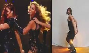 Chàng trai nhảy sexy bắt chước Beyoncé