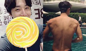 Sao Hàn 19/9: Nam Joo Hyuk khoe body chuẩn, Jung Il Woo mặt nhỏ hơn kẹo mút