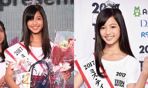 Thiếu nữ 12 tuổi lên ngôi Miss Teen Nhật Bản