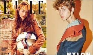 Krystal bị gõ sai tên trên tạp chí, Baek Hyun cũng theo mốt 'tha thu'