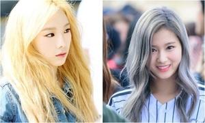 Những màu tóc 'huyền thoại', tạo nên tên tuổi của mỹ nhân Hàn