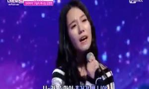 Cặp đôi Hàn hát dở bất ngờ khiến trường quay giật mình