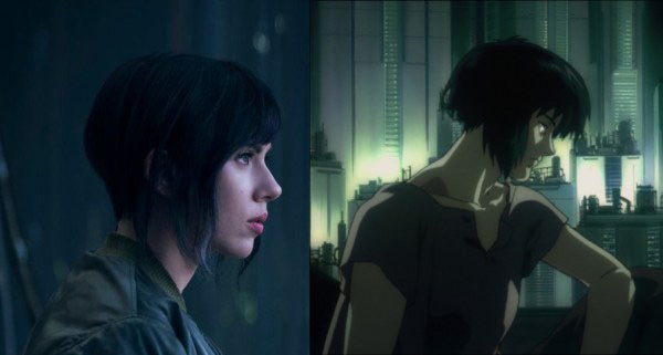 Scarlett Johansson trong Ghost In the Shell.
