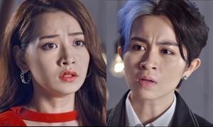 Chi Pu tái hiện cảnh phụ tình Gil Lê trong series phim mới