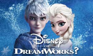 Phân biệt phim của hãng Disney và DreamWorks chỉ qua một cảnh quay