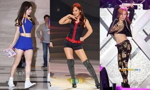 8 idol nữ Kpop mình dài, chân ngắn