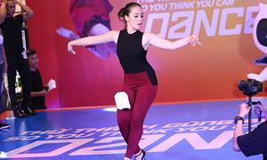 Cô gái lai Pháp 16 tuổi gây ấn tượng ở casting 'Thử thách cùng bước nhảy'