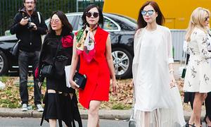Tín đồ thời trang Việt chất lừ ở Paris Fashion Week