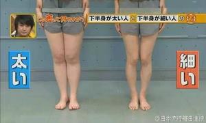 Người Nhật lý giải vì sao bạn có đùi, bắp chân to