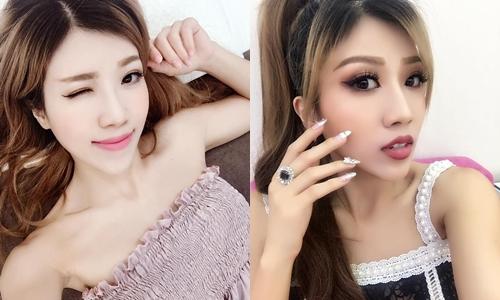 Đôi môi khác biệt khiến Trang Pháp bị dính nghi vấn thẩm mỹ.