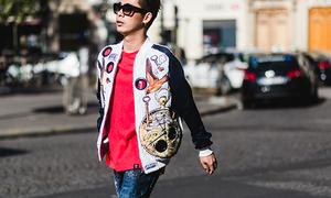 Fashionista Việt chất chẳng kém sao ngoại ở Paris Fashion Week