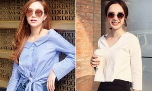 Trổ tài đoán giá trang phục bình dân của sao Việt