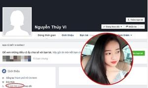 'Hot girl' Thúy Vi xóa sạch ảnh trên Facebook vì bị bóc mẽ sống ảo