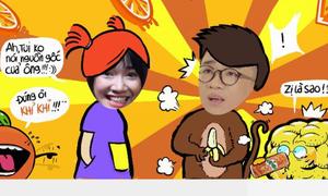 Hòa Minzy, Nhã Phương siêu kute trong trào lưu troll ảnh