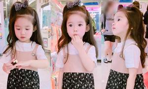Những hot girl nhí xứ Hàn sành điệu ngang người lớn