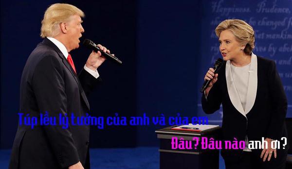 tranh-luan-trump-clinton-thanh-man-hat-karaoke-suot-muot-6