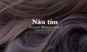 10 màu nhuộm tông nâu đẹp không cần tẩy tóc