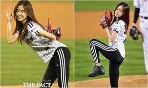 Na Eun được khen mặc legging đẹp hoàn hảo