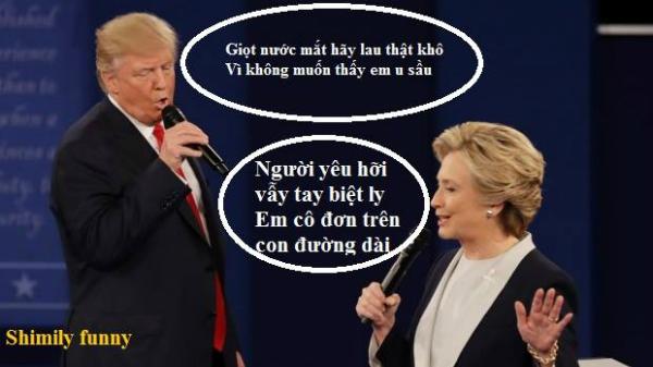 tranh-luan-trump-clinton-thanh-man-hat-karaoke-suot-muot-3