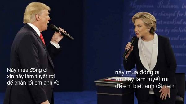 tranh-luan-trump-clinton-thanh-man-hat-karaoke-suot-muot-1