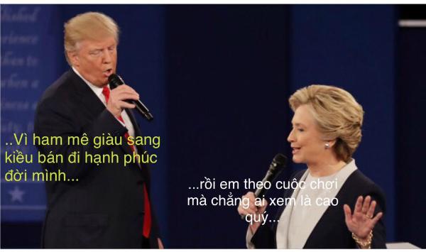 tranh-luan-trump-clinton-thanh-man-hat-karaoke-suot-muot-7