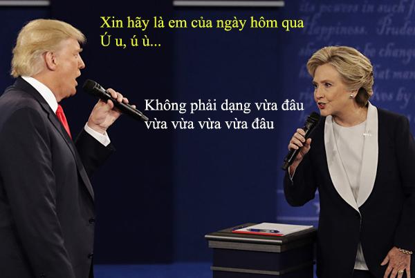 tranh-luan-trump-clinton-thanh-man-hat-karaoke-suot-muot-5