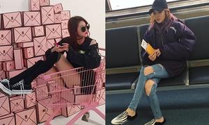 Sao Hàn 12/10: Dara quần rách tan nát, Kim Sae Ron càng lớn càng sành điệu