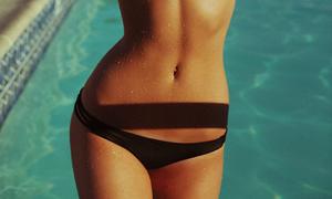 Hot girl áo tắm sở hữu đường cong đẹp như photoshop
