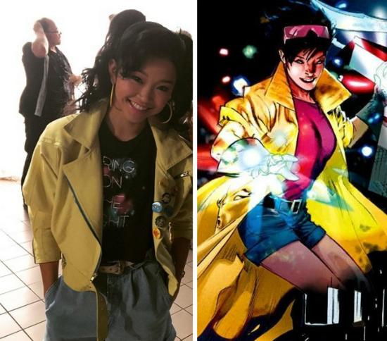 Vai diễn đầu tay là vai dị nhân Jubilee của phim X-Men
