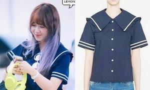 Idol Hàn đua nhau mặc sản phẩm Jessica thiết kế