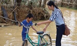 Sao Việt hết mình vì miền Trung lũ lụt