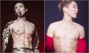 Những màn xé áo cực sexy của idol Kpop trên sân khấu