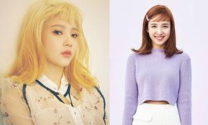 Idol Kpop 'thách thức nhan sắc' với mốt mái ngắn trên mày