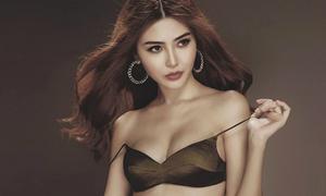 Vẻ nóng bỏng của người đẹp Việt đăng quang Nữ hoàng sắc đẹp toàn cầu 2016