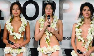 Cuộc thi 'Hoa hậu ngực đẹp' kỳ lạ ở Nhật Bản