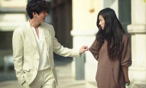 Lee Min Ho bị đá bay, Jun Ji Hyun ăn như chết đói trong phim mới