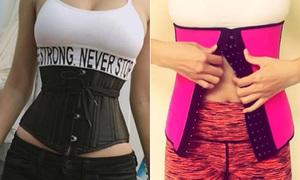 Ưu - nhược điểm của 5 loại corset, nịt bụng giảm eo thông dụng