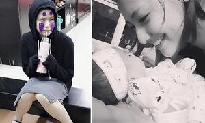 Sao Việt 1/11: Trương Quỳnh Anh cosplay 'cô bé Vô Diện', Hồng Quế dịu dàng bên con