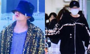 Ra sân bay đón Sung Gyu, quản lý đón nhầm G-Dragon