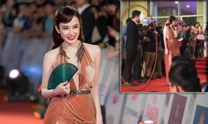 Angela Phương Trinh phủ nhận chuyện bị 'đuổi' khỏi thảm đỏ sự kiện