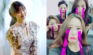 Sao Hàn 4/11: Krystal 'diễn sâu' mặt méo xệch, Kim Yoo Jung khoe vẻ nữ tính