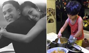 Sao Việt 5/11: Hà Tăng kỷ niệm 4 năm tình yêu, con trai Phan Anh chăm ngoan 'vào bếp'