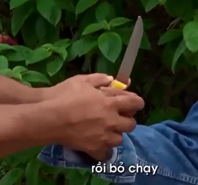 clip: cach thoat hiem khi bi cuop khong che bang dao va kim tiem hinh anh 1