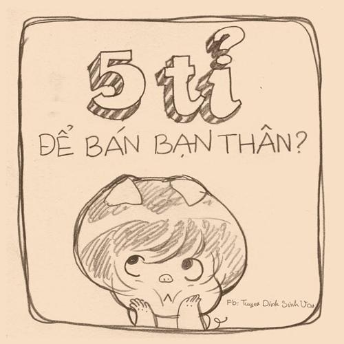 tranh-kute-5-ty-de-ban-dua-ban-than